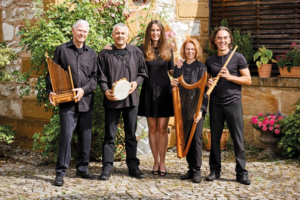 Die Capella-Antiqua mit Instrumente